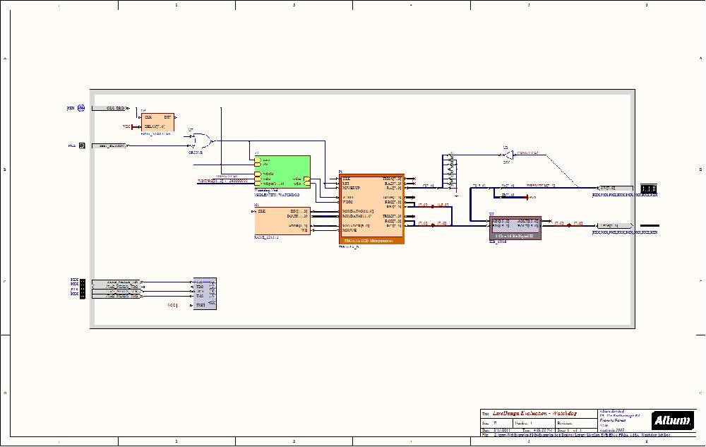 Watchdog (EB1/EB2) - NanoBoard Example Designs